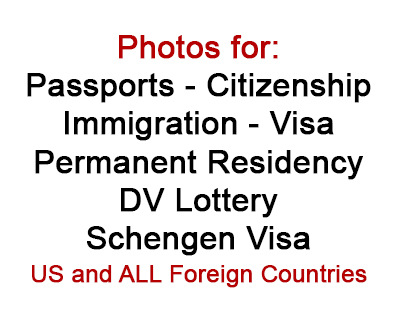 Tampa Foreign Passport Photographer